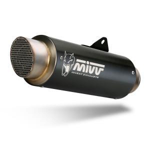 Koncovka výfuku MIVV GP PRO D.035.LXBP čierna oceľ - II. akosť