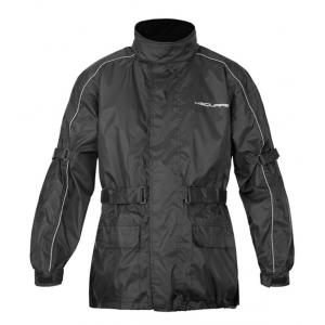 Moto bunda do dažďa SQUARE Cloud čierna