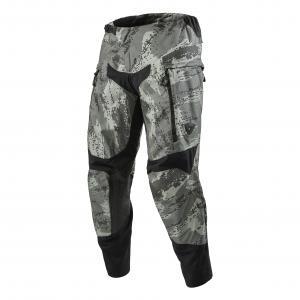 Motokrosové nohavice Revit Peninsula camo sivé