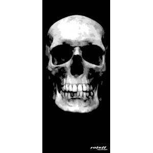 Nákrčník Roleff Big Skull čierny