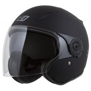 Otvorená prilba na motocykel ZED C50 čierna matná