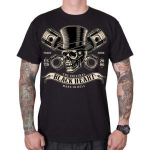 Pánske tričko Black Heart Gentleman