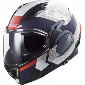 Preklápacia prilba na motocykel LS2 FF900 Citius modro-bielo-červená