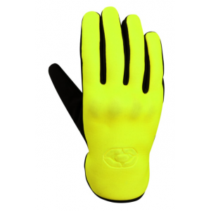 Rukavice na motocykel 4SQUARE Neo fluorescenčno žlté
