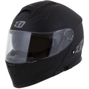 Vyklápacia prilba na motocykel ZED F18 čierna matná