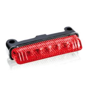 Zadný brzdové svetlo PUIG TT (75 x 15 mm) 4602R red lens