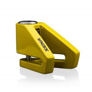 Zámok na kotúčovú brzdu XENA X1 žltý