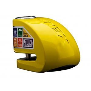 Zámok na kotúčovú brzdu XENA XX6 žltý