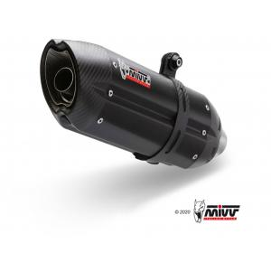 Koncovka výfuku MIVV SUONO S.056.L9 Black stainless steel / carbon cap