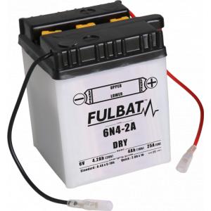 Konvenčný akumulátor ( s kyselinou) FULBAT 6N4-2A Vrátane balenia kyseliny