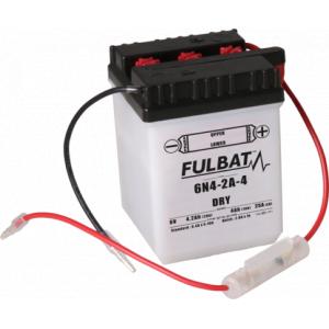 Konvenčný akumulátor ( s kyselinou) FULBAT 6N4-2A-4 Vrátane balenia kyseliny
