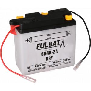 Konvenčný akumulátor ( s kyselinou) FULBAT 6N4B-2A Vrátane balenia kyseliny