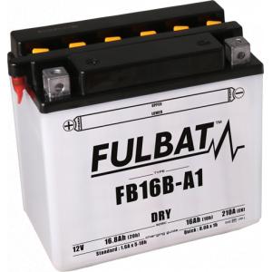 Konvenčný akumulátor ( s kyselinou) FULBAT FB16B-A1 (YB16B-A1) Vrátane balenia kyseliny