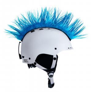 Číro na prilbu Mohawk č.39 svetlo modré