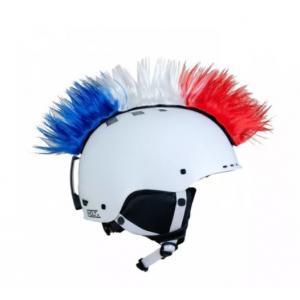 Číro na prilbu Mohawk Czech/USA č.40 modro-bielo-červené