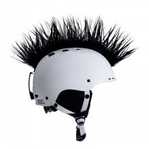 Číro na prilbu Wiggystyle Mohawk Black č.39 čierne