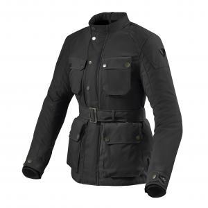 Dámska bunda na motocykel Revit Livingstone čierna