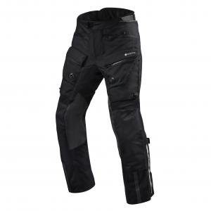 Nohavice na motocykel Revit Defender 3 GTX čierne predĺžené