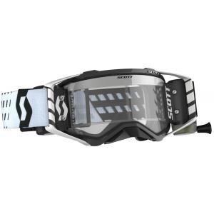 Motokrosové okuliare SCOTT Prospect WFS čierno-biele