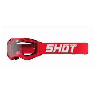 Motokrosové okuliare Shot Assault 2.0 Solid červené