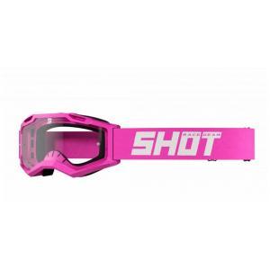 Motokrosové okuliare Shot Assault 2.0 Solid fluo ružové