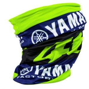Nákrčník VR46 Valentino Rossi Yamaha modro-fluo žltý