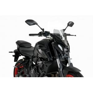 Plexi na motorku PUIG NEW. GEN SPORT 20618H smoke