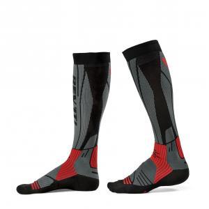 Ponožky na motocykel Revit Andes šedo-červené