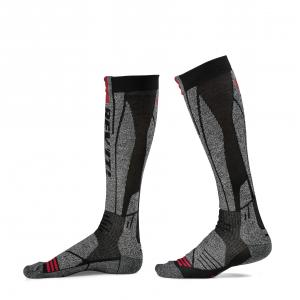Ponožky na motocykel Revit Kalahari šedo-červené
