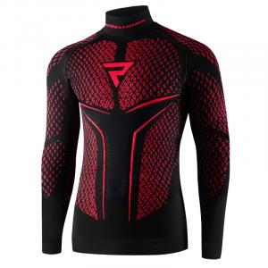 Termo tričko Rebelhorn Therm II čierno-červené