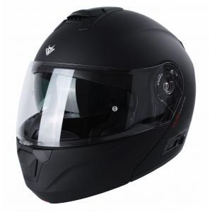 Vyklápacia prilba na motocykel RSA Rival čierna matná