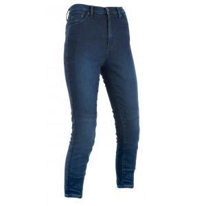 Skrátené dámske nohavice Oxford Original Approved Jeggings AA modrej indigo