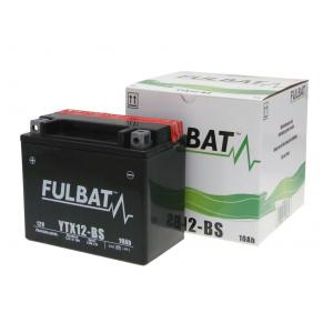 Bezúdržbový motocyklový akumulátor FULBAT FTX12-BS (YTX12-BS)