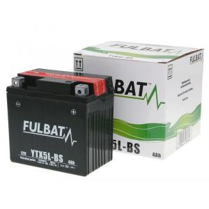 Bezúdržbový motocyklový akumulátor FULBAT FTX5L-BS (YTX5L-BS)