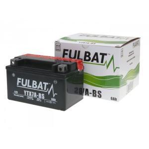 Bezúdržbový motocyklový akumulátor FULBAT FTX7A-BS (YTX7A-BS)
