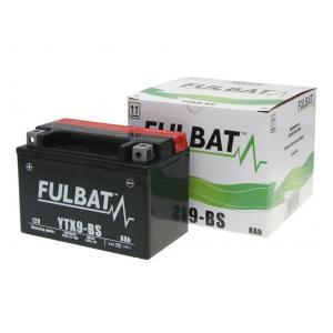 Bezúdržbový motocyklový akumulátor FULBAT FTX9-BS (YTX9-BS)