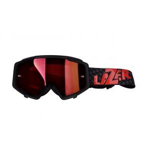 Okuliare na motocykel Lazer MX - červené sklo