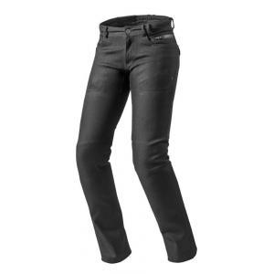 Dámske jeansy na motocykel Revit Orlando H2O RF čierne výpredaj