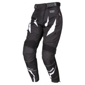 Dámske nohavice na motocykel RSA Queen čierno-biele