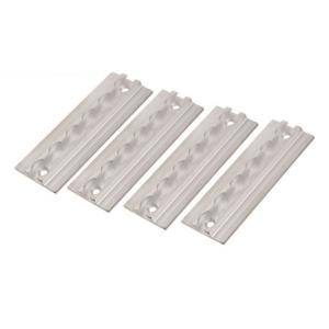 Hranatá kotevná lišta Q-TECH hliníková (sada 4 kusov) výpredaj