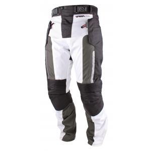 Nohavice na motocykel RSA Greby čierno-biele