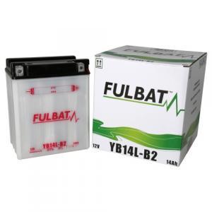 Konvenčný akumulátor ( s kyselinou) FULBAT FB14L-B2  (YB14L-B2) Vrátane balenia kyseliny