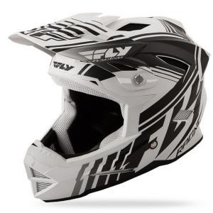 Motokrosová prilba FLY Racing DEFAULT - USA biela mat-čierna