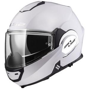 Odklápacia prilba na motocykel LS2 FF399 Valiant biela
