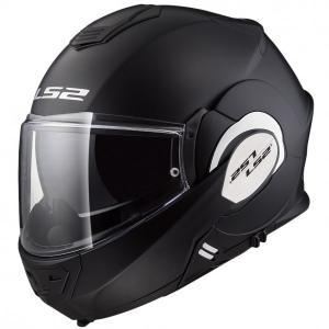 Odklápacia prilba na motocykel LS2 FF399 Valiant čierna matná