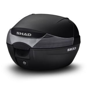 Vrchný kufor na motorku SHAD SH33 čierna