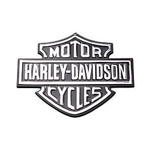 3D samolepka Harley-Davidson chróm