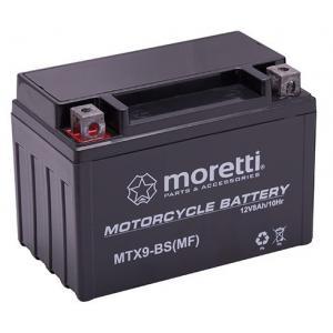 Bezúdržbová gélová batéria Moretti MTX9-BS, 12 V, 8 Ah