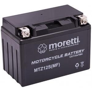 Bezúdržbová gélová batéria Moretti MTZ12S, 12 V, 10 Ah