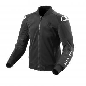 Bunda na motocykel Revit Traction čierno-biela výpredaj